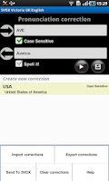 Screenshot of SVOX Slovak Elena Voice