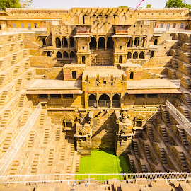 Abhaneri Step Wells by Avanish Dureha - Buildings & Architecture Statues & Monuments ( rajasthan, step well, abhaneri, dausa, chand baori )
