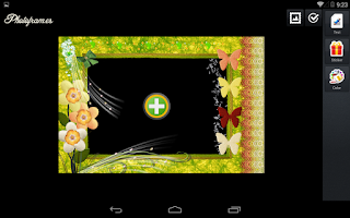 Screenshot of Flowers PhotoFrames