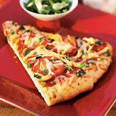 Ginger Chicken Pizza