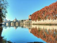 Il fiume Tevere