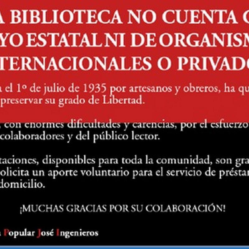 Día de las Bibliotecas Populares (en Argentina)