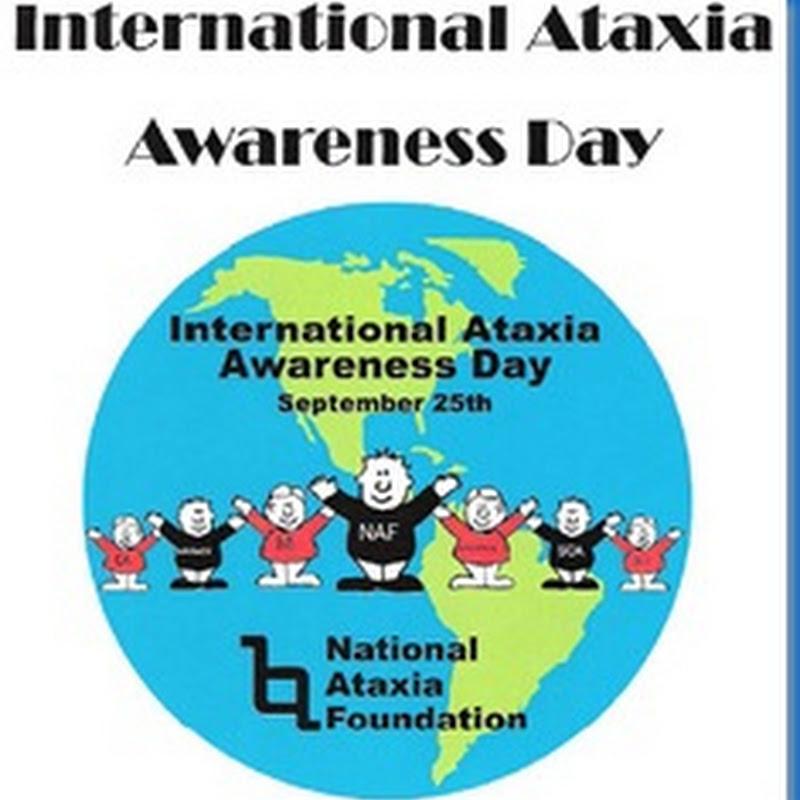Día Internacional de Concienciación sobre la Ataxia