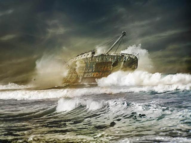Destroços de Navios pelo Mundo fora