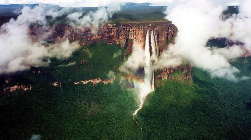 Angel Falls น้ำตกที่สูงที่สุดในโลก