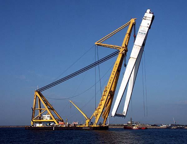PONTON-GRUE (crane barge) 419