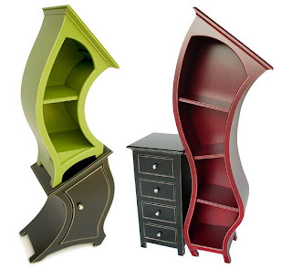 bookcases from alice in dumpsterland