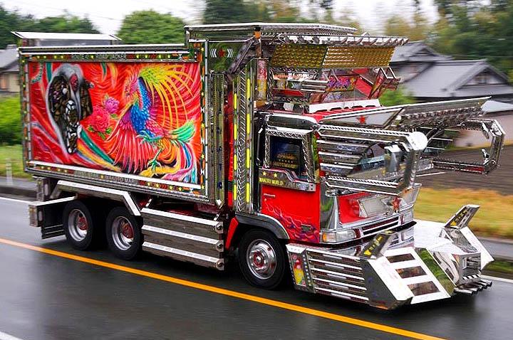 Esos camiones Raros