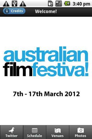 Australian Film Festival 2012