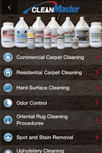 CleanMaster Solutions - screenshot