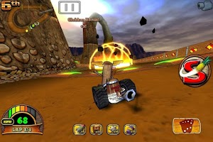 Screenshot of Tiki Kart 3D