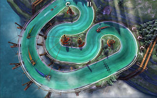 Screenshot of Slingshot Racing
