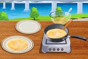 Screenshot of Crepes Cooking