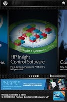 Screenshot of HP ProLiant