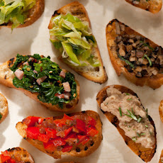 Mixed Crostini: Crostini Misti