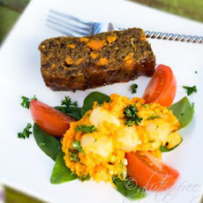 Vegan Garden Loaf Recipe with Maple Apricot Glaze