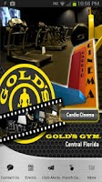 Screenshot of Gold's Gym Central FL