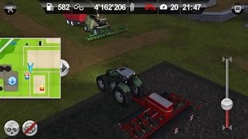 Screenshot of Farming Simulator