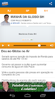 Screenshot of Rádio Globo