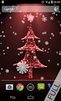 Screenshot of Christmas live wallpaper tree