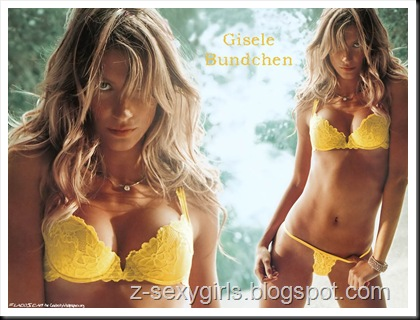 Gisele Bundchen in bikini wallpapers