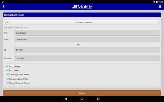 Screenshot of RCU Mobile