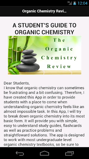 The Organic Chemistry Review