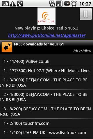 Radio Live- Pro