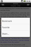 Screenshot of Holy Bible (NKJV)