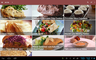 Screenshot of My CookBook (Recipe Manager)