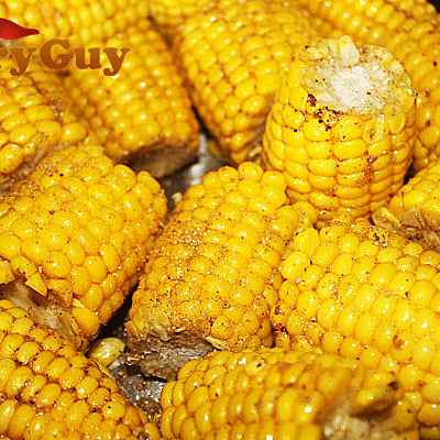 Corn On The Cob With Smoked Tandoori Spices