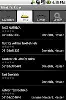 Screenshot of NiteLife: Rides