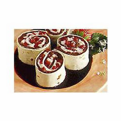 Strawberry & Chocolate Pinwheels