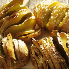 Bay Roasted Fanned Potatoes (Hasselbacks)