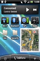 Screenshot of Where I Am Widget Demo