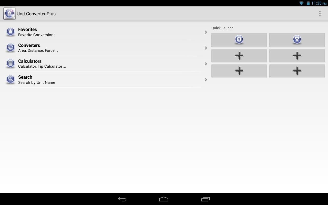 Unit Converter Plus Screenshot 8