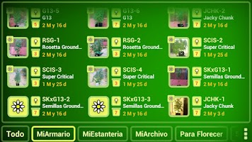 Screenshot of myGrow