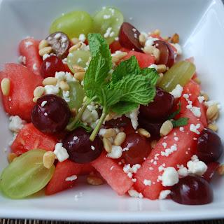 Watermelon Salad Champagne Vinegar Recipes