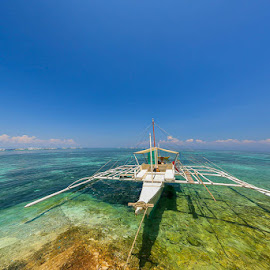 CRYSTAL CLEAR by Michael Rey - Landscapes Waterscapes ( mactan, corals, cebu, scuba, beach, philippines, swimming )