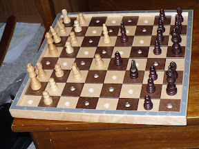 Hadley School adaptive chess board