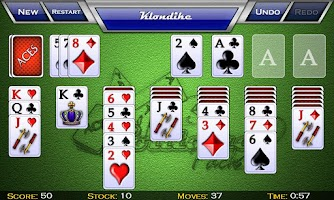 Screenshot of zzzAces Solitaire Pack 2 HD