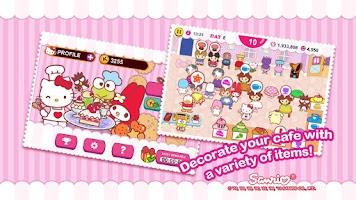 Screenshot of Hello Kitty Coffee Shop