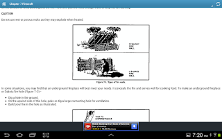 Screenshot of Survival Handbook