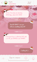 Screenshot of TOSHIYANA FONT FOR GO SMS PRO