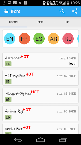 iFont (Expert of Fonts) 5.4 (Unlocked/Donate) APK