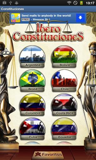 Constituciones Iberoamericanas