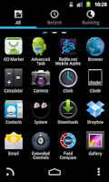 Screenshot of GOLauncher EX Theme Jelly Bean