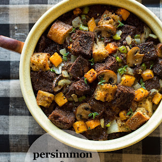 Persimmon & Squaw Bread Stuffing