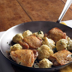 Chicken with Cauliflower and Parsley