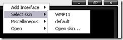 vnc skin select